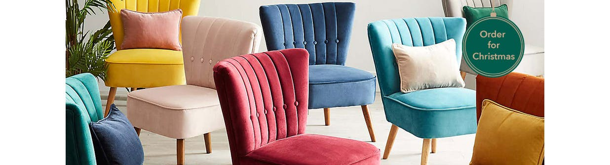 Up to 30% off Sofas & Chairs