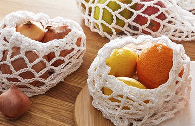 HOW TO MAKE REUSABLE FRUIT & VEG BAGS