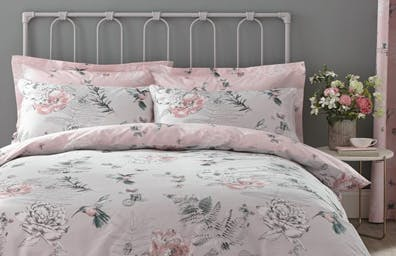 Heavenly Hummingbird Blush Bedding Collection