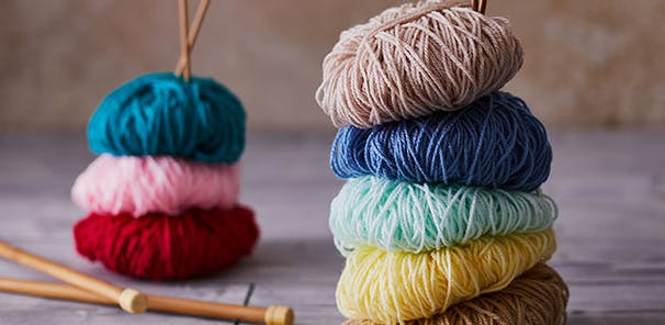 Create something special with our top knit kit