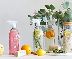 Fresh scents and sparkling surfaces