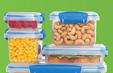 Stackable, versatile, easy to use containers to make life easier