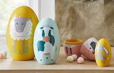 Easter Russian Doll Set