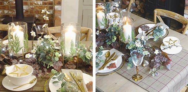 UPCYCLED TABLE DECOR WITH JONATHON MARC MENDES