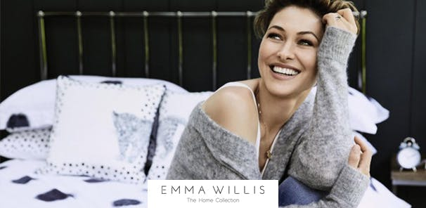 Sleep like a star in Emma's curated collection