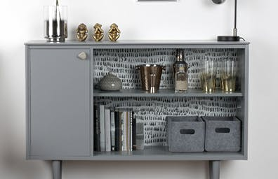 HOW TO UPCYCLE A MID-CENTURY SIDEBOARD