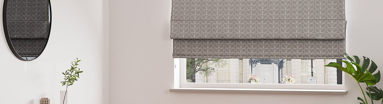 Our Roman blinds are made for you