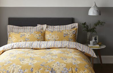 Ashbourne Ochre Bedding Collection