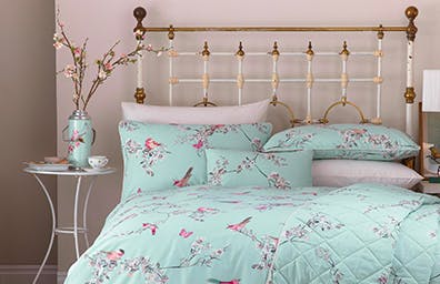 Beautiful Birds Bedding Collection