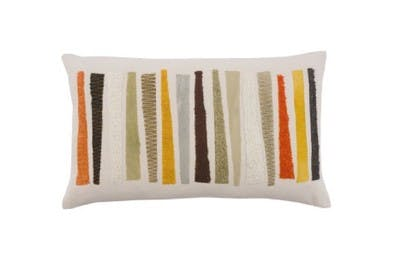 Elements Roots Stripe Cushion
