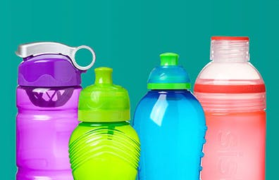 A range of fashionable drink bottles to suit your hydration needs