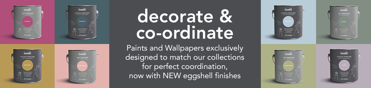 NEW eggshell and matt paint available in 40+ colours