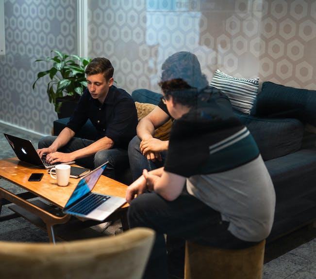 Agile scrum development team