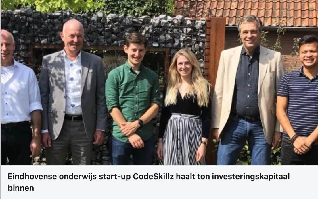 Nieuwsitem over lancering CodeSkillz