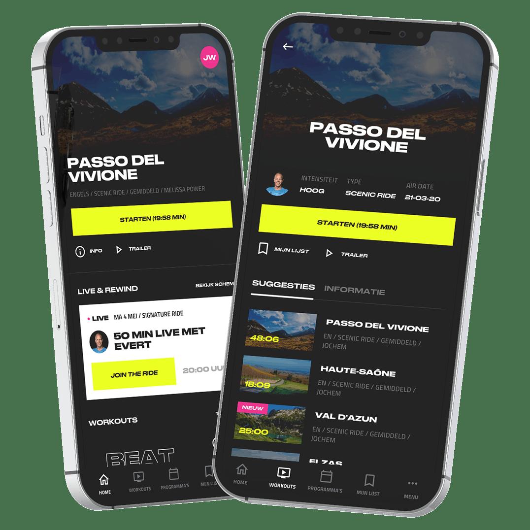 Flutter app voor iOS en Android