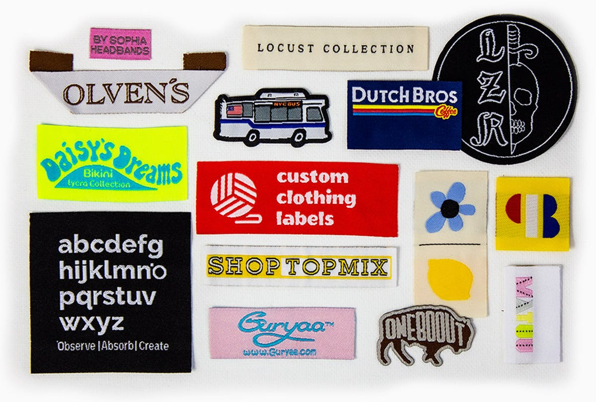 Custom Sewing Labels Tags Dutch