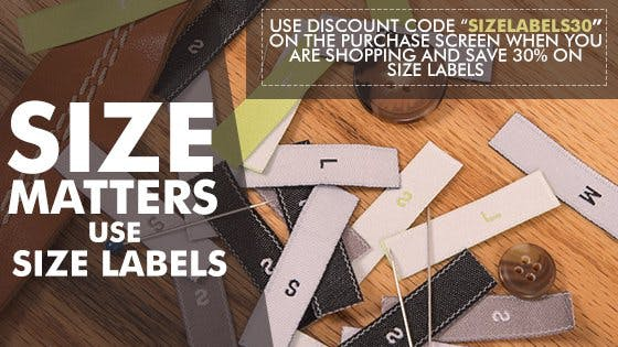 30% Off Any Size Labels