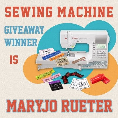 DLS SEWING MACHINE GIVEAWAY