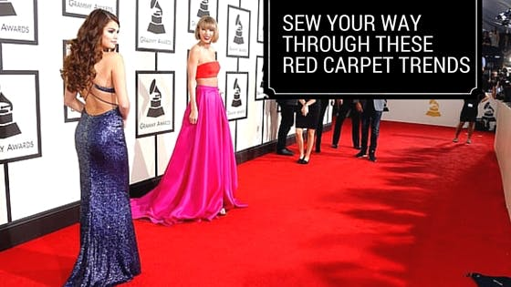 Sew Your Way Through These Red Carpet Trends