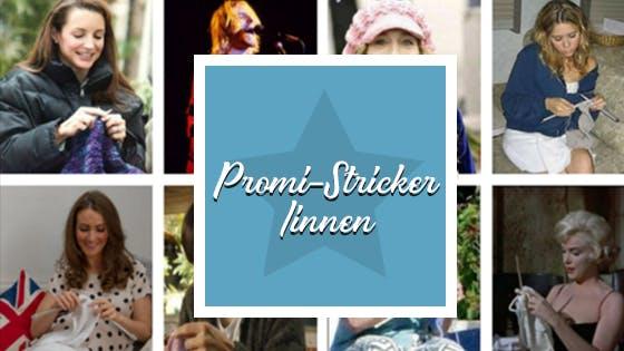 Wir haben euch eine Liste der Promi-Stricker und Promi-Näher erstellt.