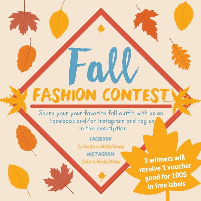 Dutch Label Shop Fall Fashion Contest
