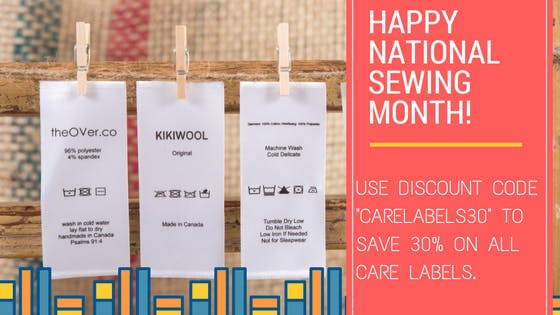 Save 30% on Care Labels