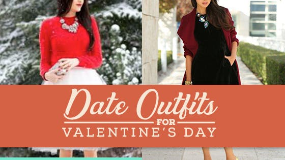 Date Outfits for Valentine's Day