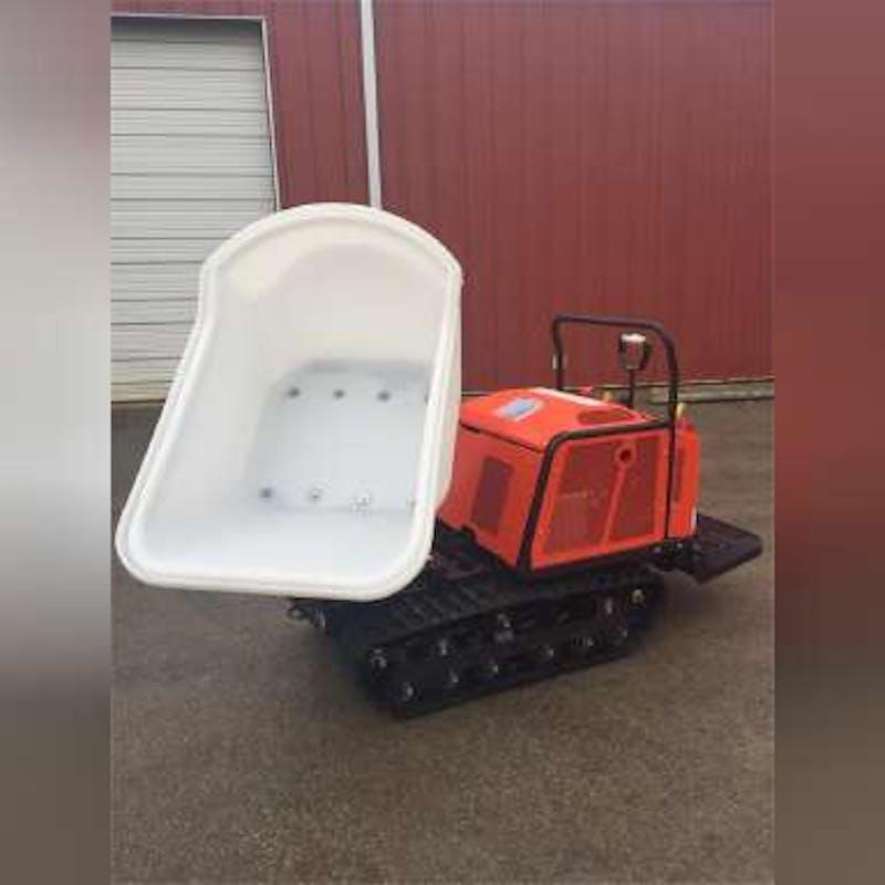 Track Concrete Power Buggy - Pivot Dump