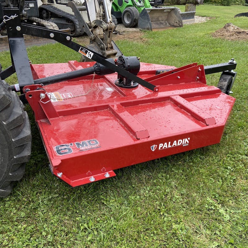 Tractor 3 Point Hitch Brush Mower / Brush Hog Attachment.