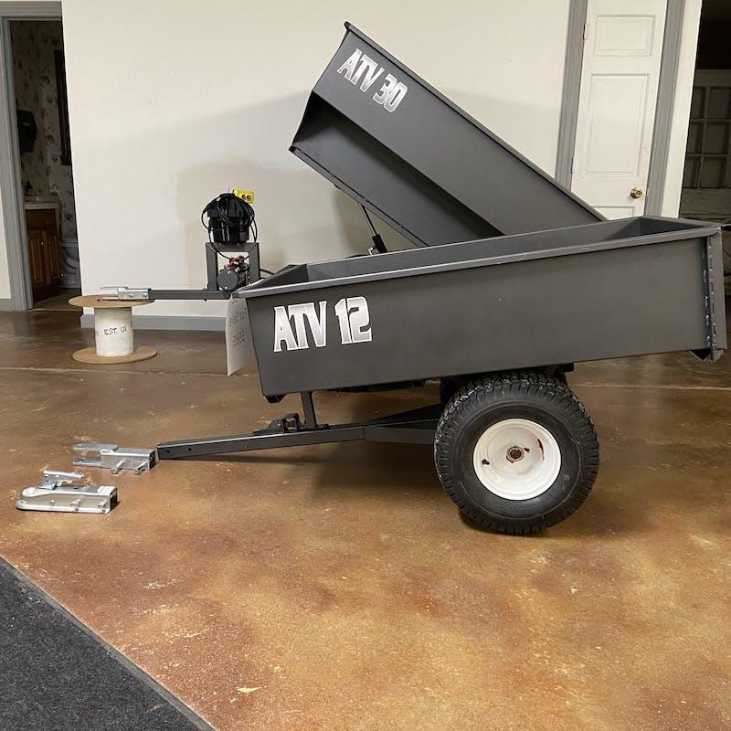 ATV 12 Dump Trailer