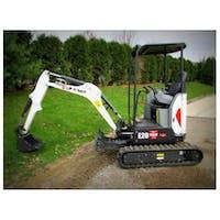 Bobcat E20 Mini Excavator