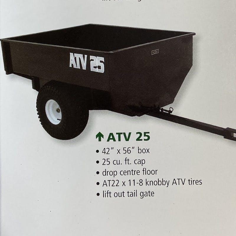ATV 25 Dump Trailer