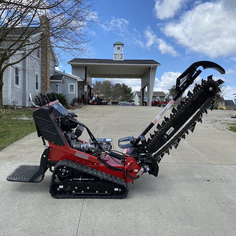 Trencher, Stand-On