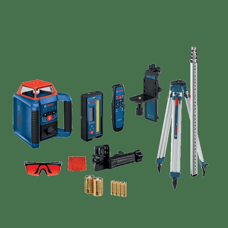 Level, Dual Slope Rotary Level, Bosch GRL2000-40HVK