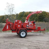 Brush Chipper 12 Inch