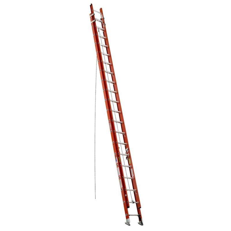40 ft Werner Fiberglass Extension Ladder