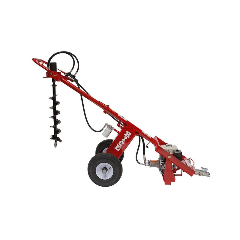 Dirt Dawg Hydraulic Auger - Towable