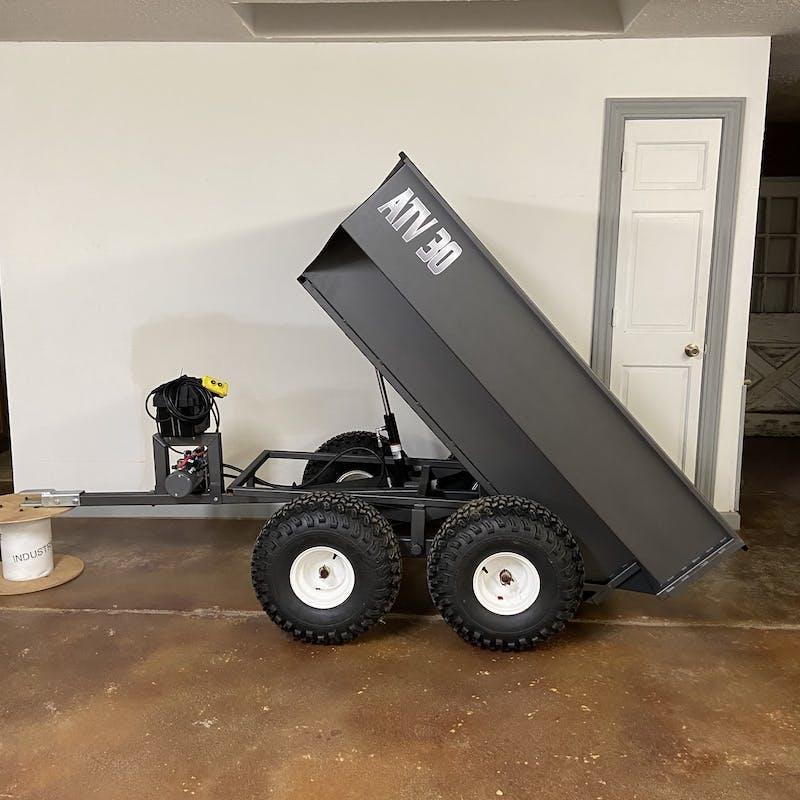 ATV 30HYD Dump Trailer