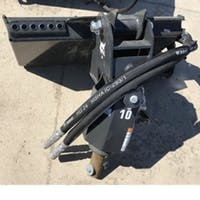 Auger Drive for Mini Track Loader (Dingo)