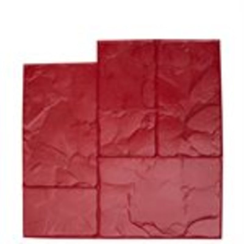 Ashlar Cut Stone Stamp Rental