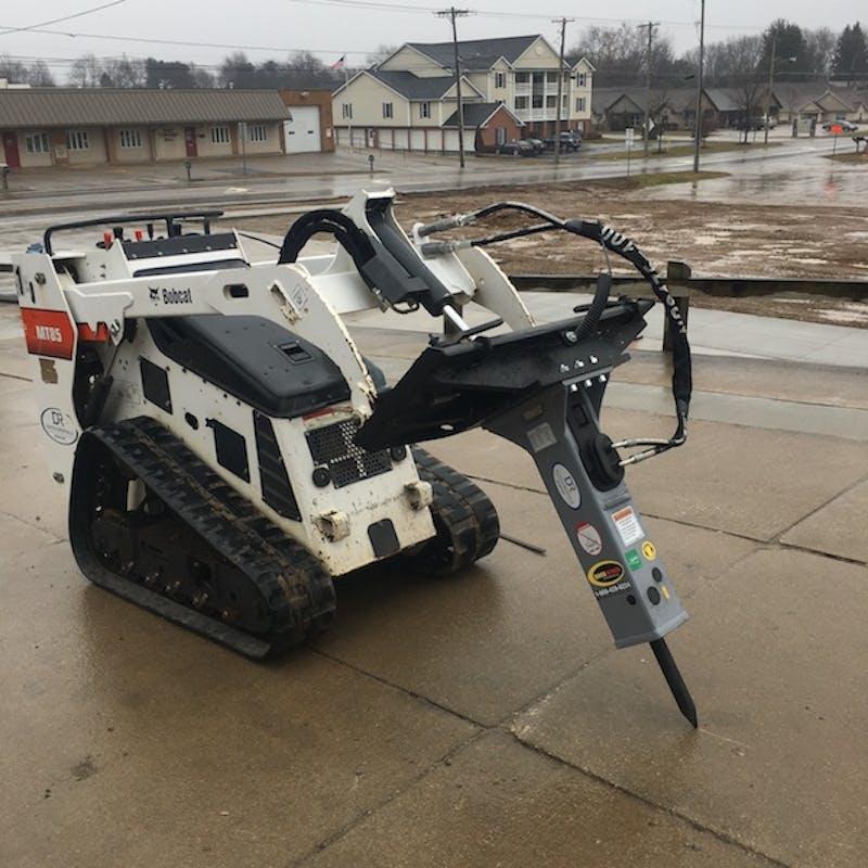 Mini Hydraulic Breaker for MT 85 (Dingo)