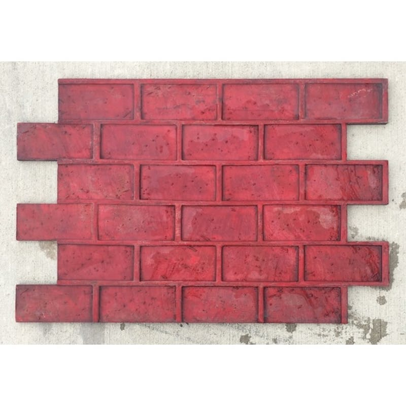 Brick-Running Bond Stamp Rental