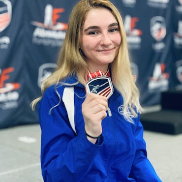 """""""B20"""" DYNAMO COMPETITIVE FENCER SINCE 2013"""