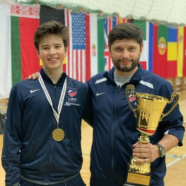 """""""A20"""" DYNAMO COMPETITIVE FENCER SINCE 2013"""