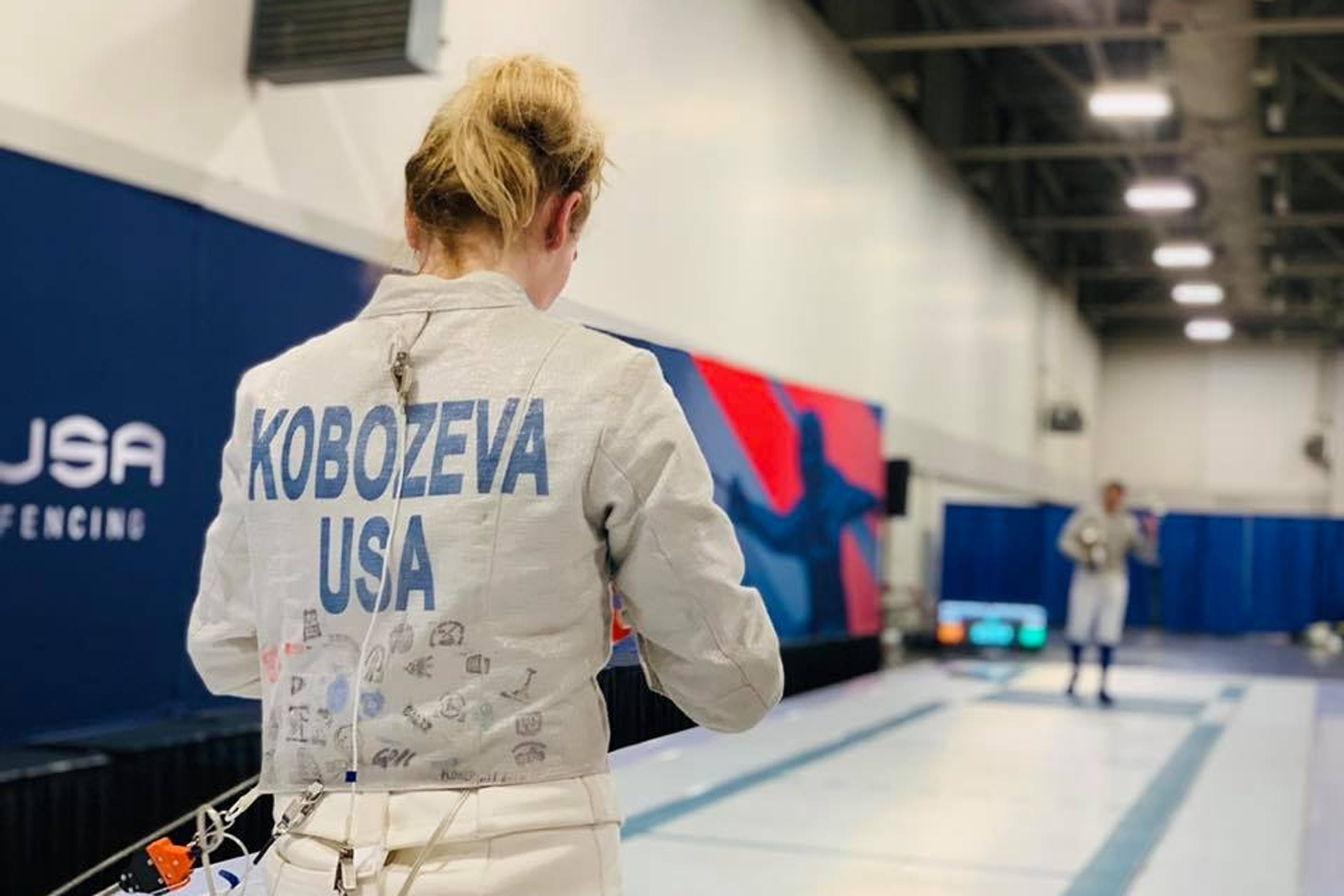 Toma Kobozeva wins silver at 2019 North American Cup in Salt Lake City, UT