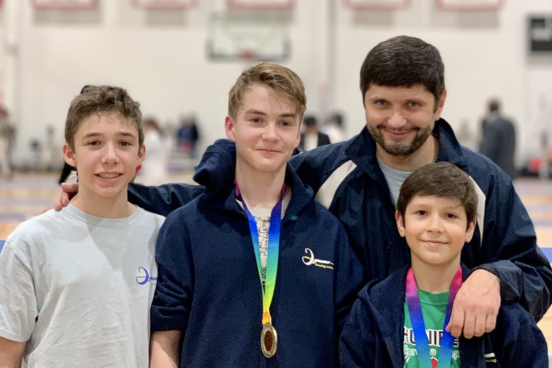 Sasha Shirpal and Daniel Kushkov making top 8 at Windy City Super Youth Circuit 2019 (Chicago, IL). Alex Chterental made top 16 and earned national points.