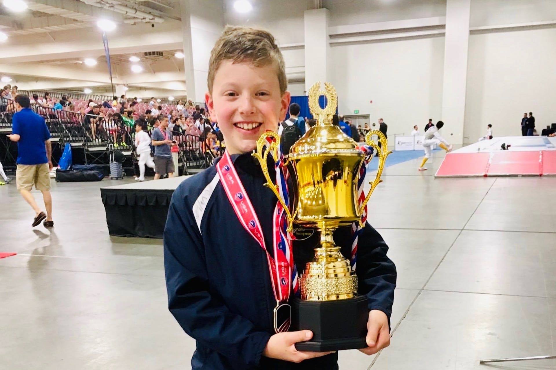 Dynamo the fistr Youth National Champion! Eddie Maklin was unstopable to a gold medal in the last day of 2017 Summer National Championship in Salt Lake City, Utah. Shoutout to Eddie, Coach, parents and the whole Dynamo team for support!  Boston strong! Go Dynamo! S