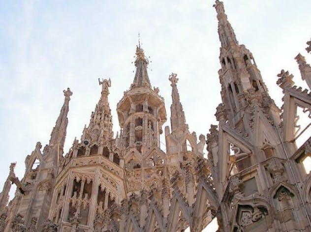 La guglia del Duomo di Milano