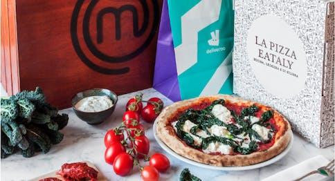 Pizza Eataly Italia - MasterChef con Deliveroo