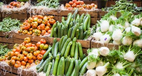 La verdura del Mercato di Eataly